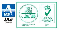 ISO 9001認証マーク